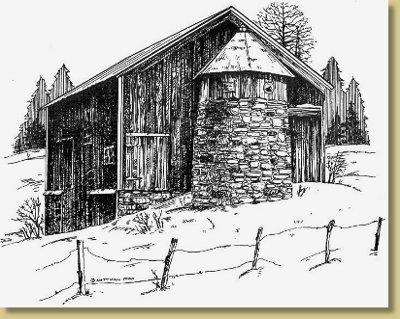 The Old Stone Silo - James Cutrone Farm