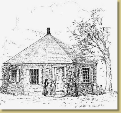Octagon School House