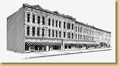 Honesdales Centennial Block and Katz Bros Department Store