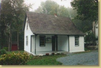 Dorflinger Glass Worker's House 1